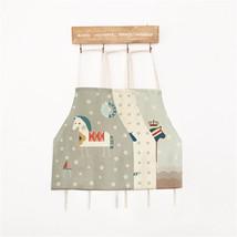 Home Textile Cartoon Horse Cotton Linen Adult Child Kitchen Housework Ap... - $6.65+