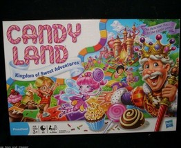 2010 CANDY LAND KINGDOM OF SWEET CANDY BOARD GAME IN BOX 100% COMPLETE K... - $17.77