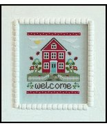 Welcome Home cross stitch chart Country Cottage Needleworks - $5.40