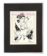 Buchse Dschungel Mädchen Sn 'D Echt Fotodruck mit 50 Steve Woron - $29.50