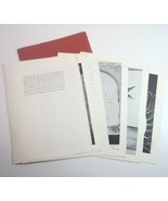 1964 Portfolio of Shakespeare Drawings by Faculty of CA State College Lo... - $12.99