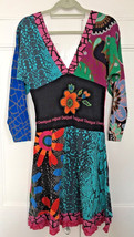 gorgeous Designer Desigual Long Sleeved Dress/tunic. sIZE LARGE - $58.69
