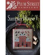 Sampler House V cross stitch chart Plum Street Samplers  - $10.80