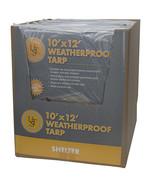 Ultimate Survival Technologies Weatherproof Tarp 10' x 12' - $26.93