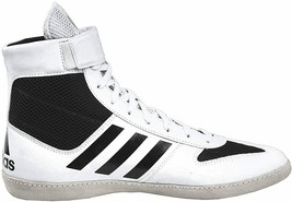 Adidas AC7501 Combat Speed 5 White Black Wrestling Shoes Brand New! size 16 - $74.79