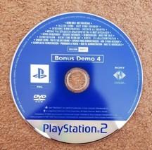 Sony PlayStation 2 Bonus Demo 4 CD SCED-51486  - $7.88