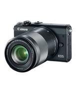Canon EOS M100 Mirrorless Camera w/ 15-45mm Lens & 55-200mm Lens - Wi-Fi... - £1,022.10 GBP
