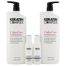 Keratin Complex Keratin Color Care Shampoo & Conditioner 33.8 oz + Trave... - $78.69