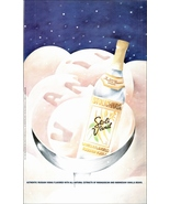 Stolichnaya Vanilla Flavored Russian Vodka 1997 Print AD Starry Night Gr... - $14.99