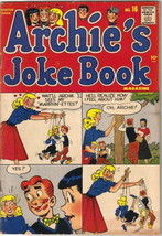 Archie's Joke Book Comic Book #16 Archie Comics 1954-55 VERY GOOD - $52.16