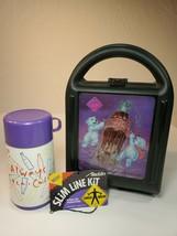NOS VINTAGE 1996 COCA-COLA POLAR BEAR ALADDIN PLASTIC LUNCH BOX & THERMO... - $18.50