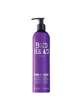 TIGI Bedhead Dumb Blonde Toning Shampoo, 13.5 ounce