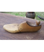 Antique WOOD SHOE FORM High Quality Wood - $25.00
