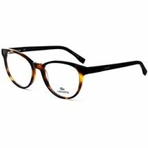 NEW LACOSTE L2834 214 Havana Eyeglasses 52mm with Lacoste Case - $79.15