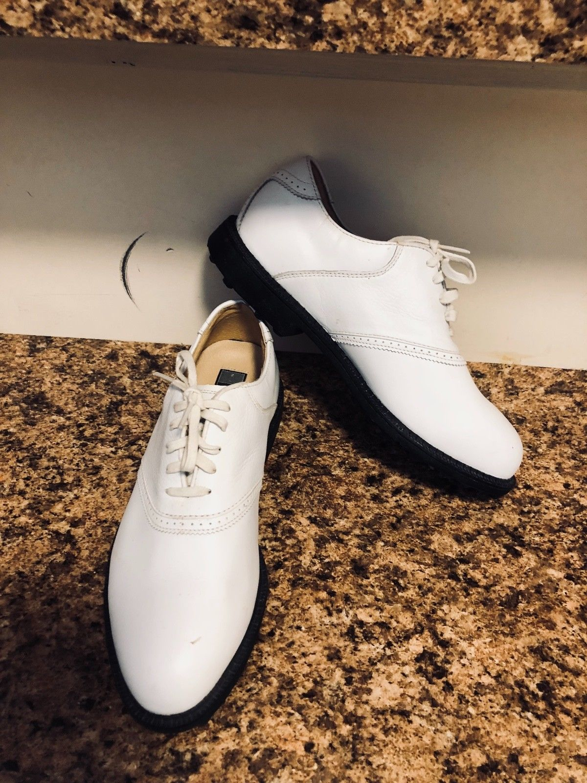 Nike Air Golf Womens White Shoes Cleats Lace and 50 similar