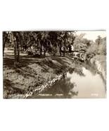 Vintage 1945 Real Photo Postcard - City Park Ma... - $15.00
