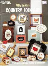Cross Stitch Mily Smith's Country Folk Art - $5.50