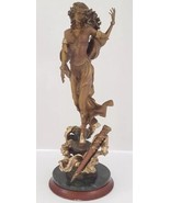 "Bronze Statue Franklin Mint Sculpture Figurine ""Morgan Le Fay"" Limited E... - $282.14"