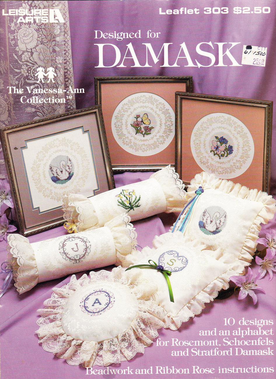 Primary image for CROSS STITCH DESIGNED FOR DAMASK VANESSA-ANN