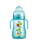 MAM Trainer Cup, Trainer Cups for Babies with Handles, Boy, 8 Ounces, 1-... - $7.46