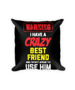 Funny pillows - Square Pillow Case w/ stuffing - $23.00
