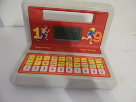 Fisher Price Math starter vintage electronic learning toy 123.. Works EUC - $7.91