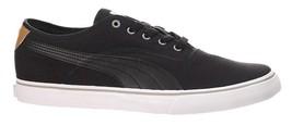 Mens Puma El Loch Low Top Sneakers - Black/Cashew [358200 01] - $74.99