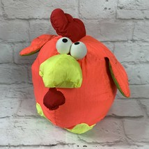 PLAYSKOOL Awesome Toss Ems Rooster Plush 1992 Puffalump Style Cock-A-Doodle-Doo - $16.66