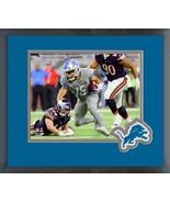 Golden Tate 2017 Detroit Lions #15 -11x14 Team Logo Matted/Framed Photo - $42.95