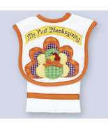 Baby's My 1st Thanksgiving Bib and Burp Set for Baby - $22.00