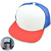 Stranger Things Dustin Cosplay Red White Blue Baseball Caps Hat Costume ... - $8.37