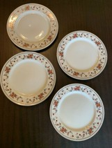 Sheffield Anniversary Fine China Dinner Plates,  Discontinued Pattern, Set Of 4 - $36.47