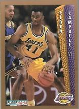 1992-93 FLEER NBA-#106-Elden Campbell-Lakers-Forward - $3.94
