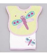 Baby's Juice Bib & Burper Set: Dragonfly - $22.00