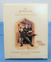 Harry Potter 2006 Hallmark Christmas Ornament Creeping Along The Corrido... - $39.90