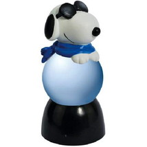 Peanuts Snoopy as Joe Cool Lighted 35mm Sparkler Water Globe, NEW BOXED - $14.50
