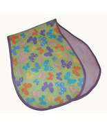 Baby's Butterfly Flannel Burp Cloths - $10.00
