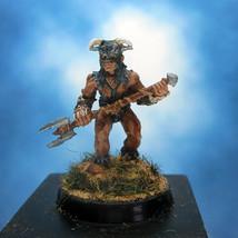 Painted Ral Partha Miniature Barbarian - $31.86