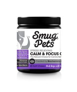 4 Pack Calming Treats Pet Anxiety Chews Dog Relief SmugPets Fireworks/Se... - $49.47