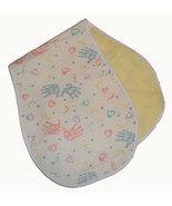 Baby's Handprints Flannel Burp Cloths - $10.00