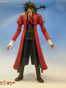 Hellsing: Search & Destroy Vol. 03 DVD + Limited Ed Arucard Action Figure NEW!