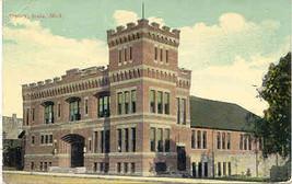 The Armory Ionia Michigan 1912 Post Card - $5.00