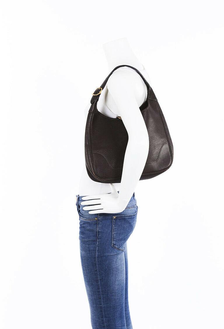 Vintage Hermes Trim 31 Buffalo Shoulder Bag image 8