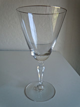 Fostoria Engagement Platinum Water Goblet - $22.17