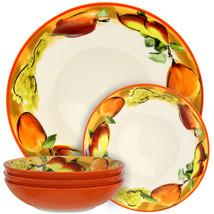 Elama Fruitful Bounty 5 Piece Pasta Serving Bowl Set - $29.79