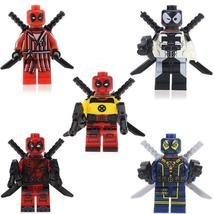 Deadpool Minifigure Super Heroes Marvel DC Figure Single Sale Lego Block... - $1.99