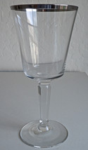 Lenox Solitaire Water Goblet - $30.09
