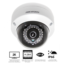 Hikvision DS-2CD2142FWD-I 4MP Network IP Dome Security Camera 4.0mm Refu... - $98.97