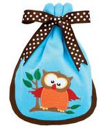 Baby's Owl Burp Pad - $10.00