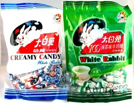 White Rabbit Candy Variety Pack ( 1 Creamy Milk, 1 Green Tea Matcha ) - $8.90